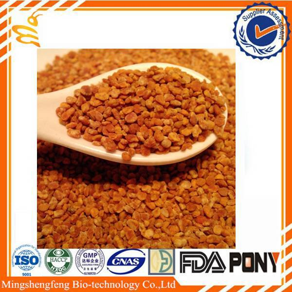 Factory wholesale china bee products bee pollen rape pollen