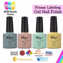 customized label cheap soak off uv gel color nail polish factory wholsale OEM