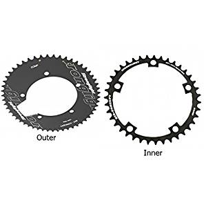 Stronglight Bio Concept CT2 Ceramic Teflon Black Time Trial 110mm Shimano Compact Chainring - 36T