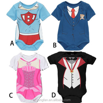 Funny Baby Clothes Newborn Infant Custom Bodysuits Carters Baby Girl
