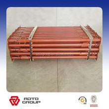 High quality painted ghana vertical adjustable steel scaffolding slab prop for formwork system