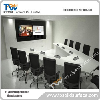 Brand New Triangle Conference Table With Professional Technical - Triangle conference table