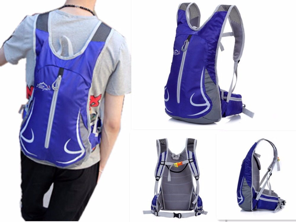 2015 New Hot 12L Waterproof Nylon Cycling Bicycle Bike Backpack Ultralight Sport Outdoor Riding Travel Mountaineering Bag
