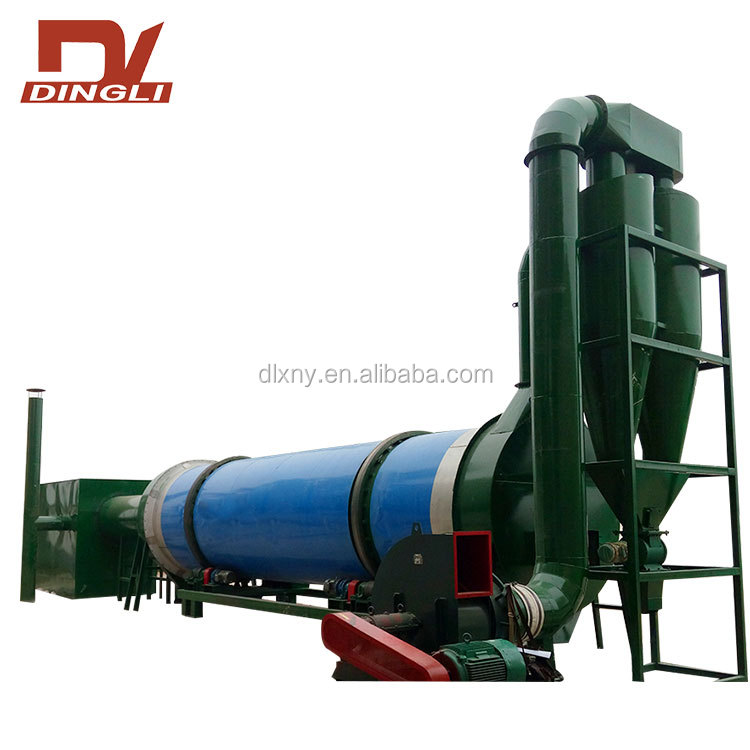 Factory Direct Price Rotary Drum Rice Straw Dryer with Long-term Supply
