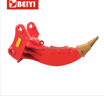 BEIYI hydraulic excavator ripper with number BYKRL02/04/06/08/10/17/20