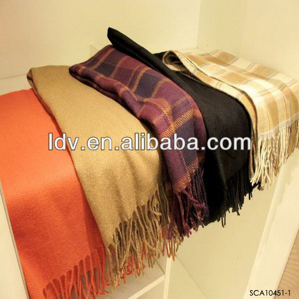 Fashion Women Warm Winter Scarf Shawl Cotton Blended Long Soft Scarves Wraps