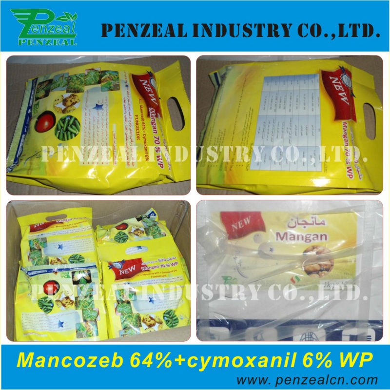 Mancozeb 64%+Cymoxanil 6% WP, agrochemical fungicide, Mix pesticide