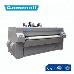 Laundry flat ironer & sheet ironing machine