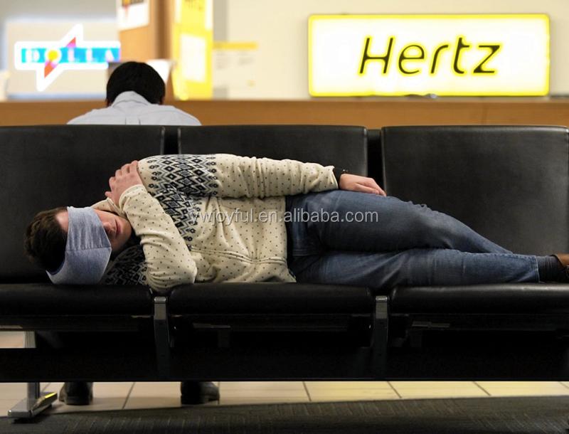 Amazon hotting populaire voyage kussen vliegtuig zachte hoofd en