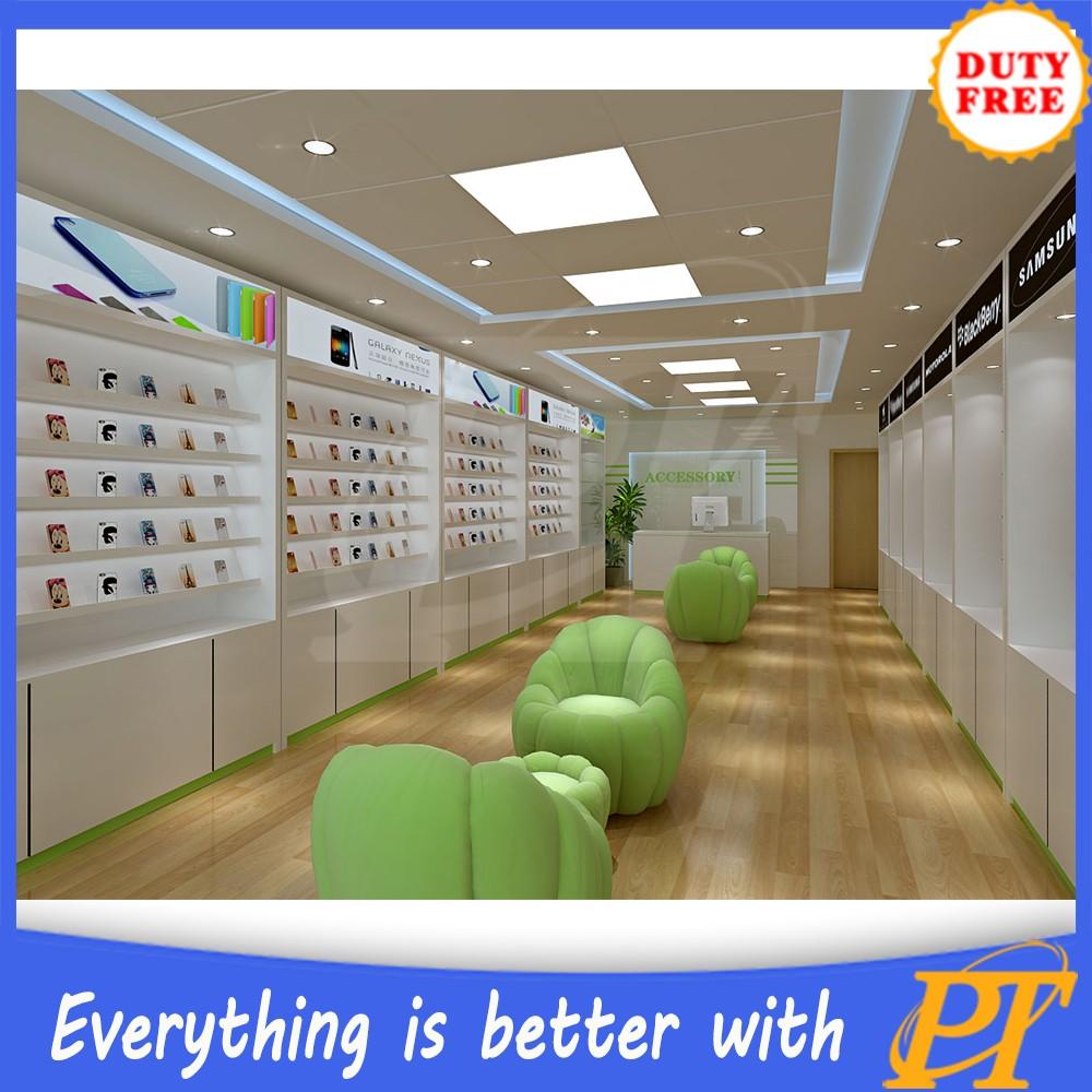 unik showroom kayu ponsel layar elektronik wall mounted rak - buy jasa  desain interior toko,telepon jasa desain interior toko,toko ponsel desain