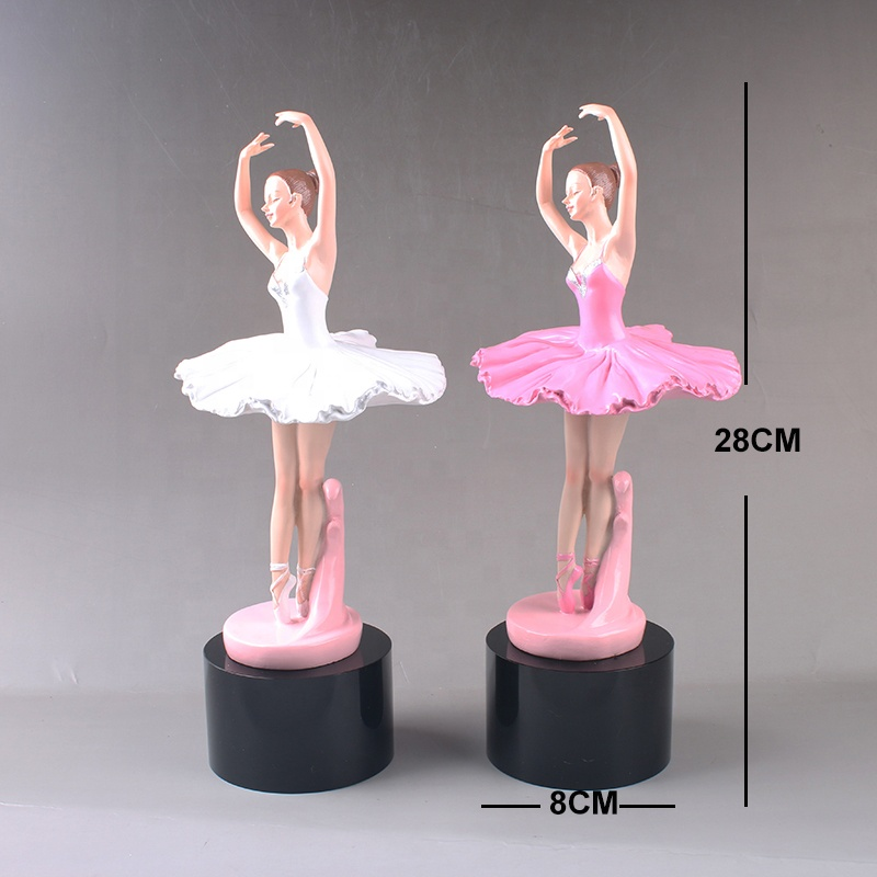 2019 creative custom artistic dance dance competition high-end award commemorative prizes gifts ballet resin crystal trophy