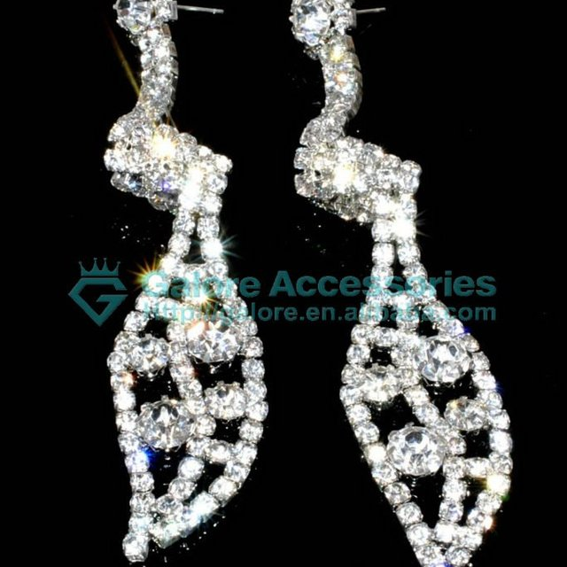 Buy cheap china chandelier rhinestone earrings products find china crystal bridal chandelier rhinestone earrings aloadofball Gallery