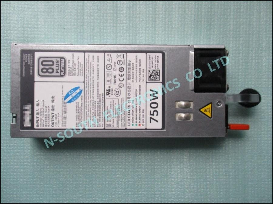 Nouvelle alimentation pour dell poweredge r820 r720 r7620 r520 t620 t420  t320 750w 5nf18