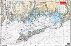 Waterproof Charts, Standard Navigation, 60 Fishers Island Sound