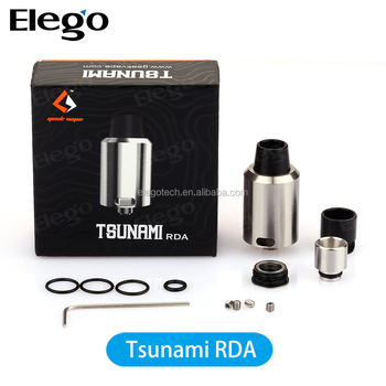 100% Original Geekvape Tsunami / Tsunami Rda With Wismec Rx200 Hot ...