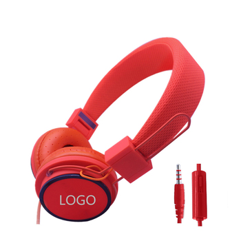 China Factory Wholesale Wired Stereo Headset for Kids, Cute Headphones for girls, Cheap Colorful Kids Headphones