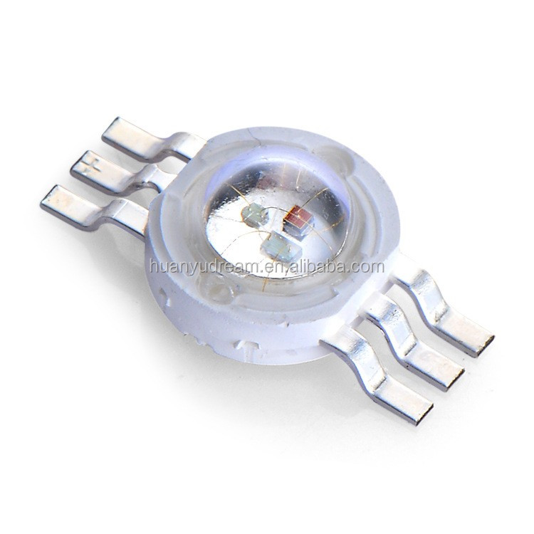 Rgb 3 Watt Led Chip, High Power Led Rgb Led Chip