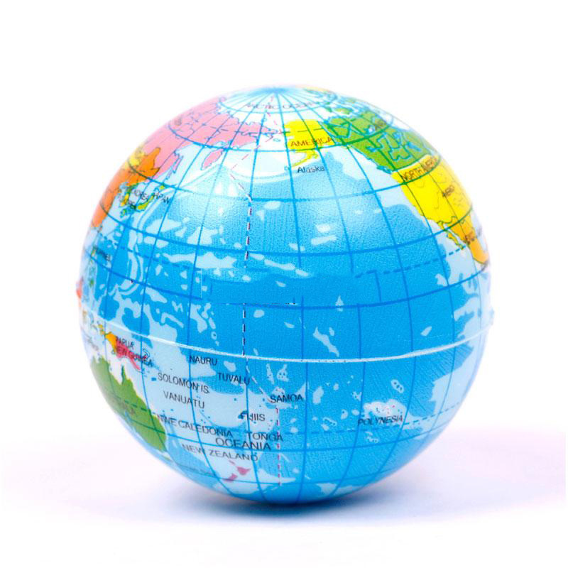 Cheap earth map kids find earth map kids deals on line at alibaba get quotations dollarwood new sale world atlas geography map earth globe stress relief bouncy foam ball kids toy gumiabroncs Images