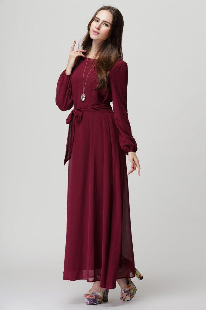 new 2015 spring summer chiffon dress women casual dress ...