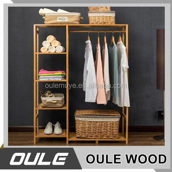 Featured Design Solid Wood Coat Rack Parts Bedroom Cloth From China Manufacture