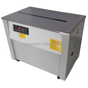 stainless steel automatic carton strapping machine for small box