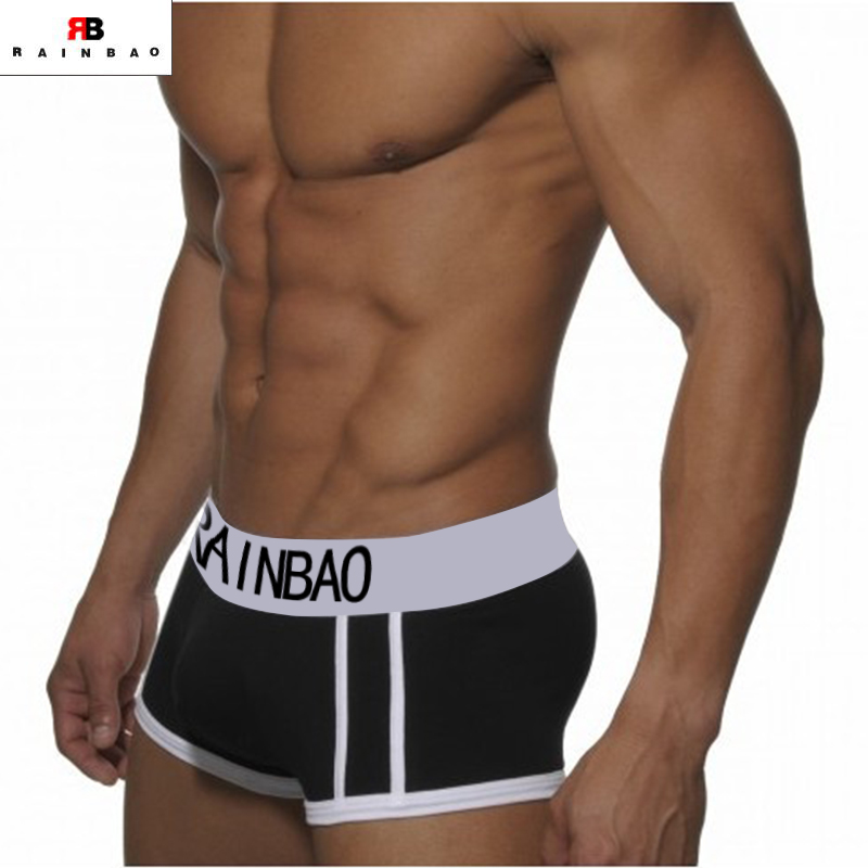 Customized logo cotton men's underwear boxer briefs men's briefs & boxers