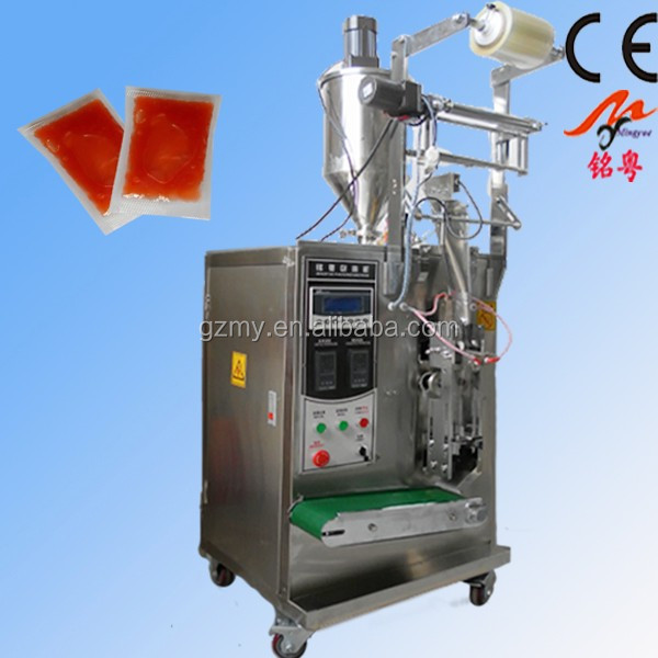 Automatic fruit jam pack machine,liquid filling machine with working video MY-60Y