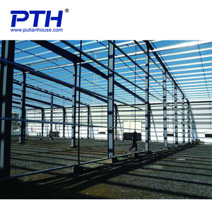 High rise prefabricated steel structure hotel building