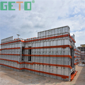 High quality icf insulated concrete forms with longitudinal stiffener