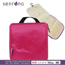Guangdong factory!New Colorful 420d Polyester Travel Hanging Toiletry Bag Wholesale