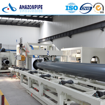 Large Plastic PVC 200mm Pipe for Drainage