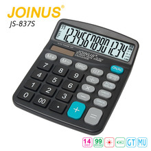 Factory Price JOINUS Home 14 Digits Solar Cell Calculator