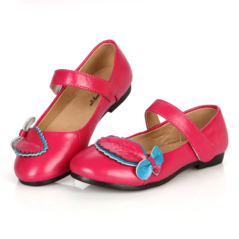 Girls Leather Sshool Shoes Size G