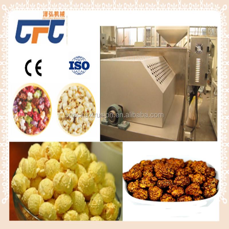Hot Air Industrial Popcorn Popper Machine