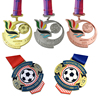 Manufacturer cheap custom soccer medals