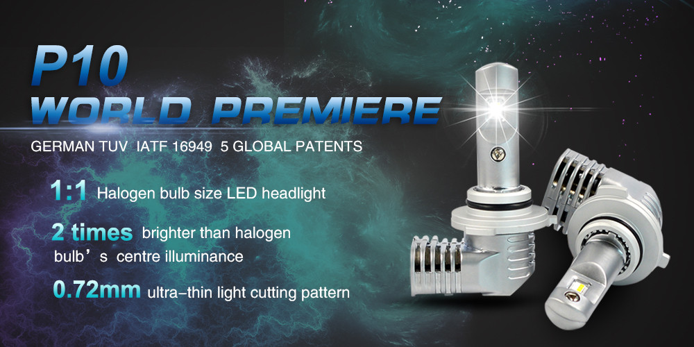 Auto car led headlamp h7 h4 h1 50W 5600LM auto led lamp LED headlights D2S  automobile & motorcycle headlight p10 h7