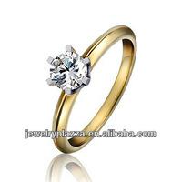 18K Gold Diamond Wedding Rings Jewelry
