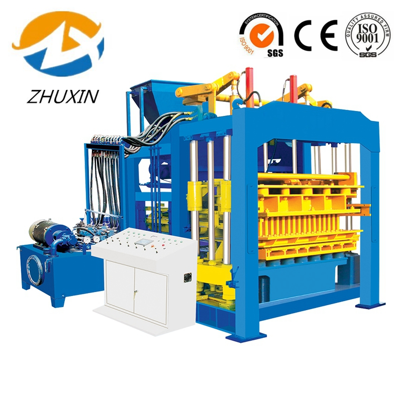 QT 12-15 Automatic Hydraulic Cement Hollow Block Making Machine data entry projects