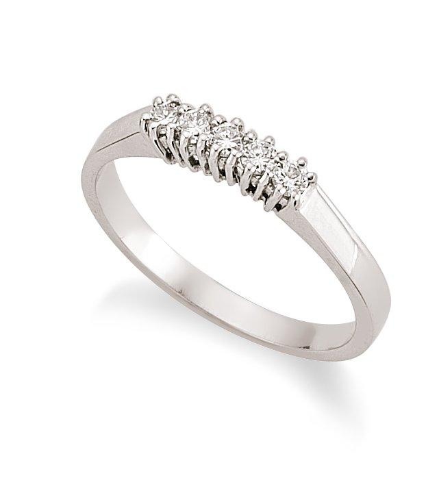 18 Carat White Gold Diamond Engagement Ring Product On Alibaba