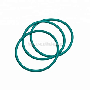 Custom green color rubber seals / fkm rubber o ring