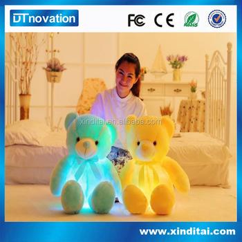 Led Teddy Bear/plush Led Bear Toys For Sale/light Up Teddy Bear ...