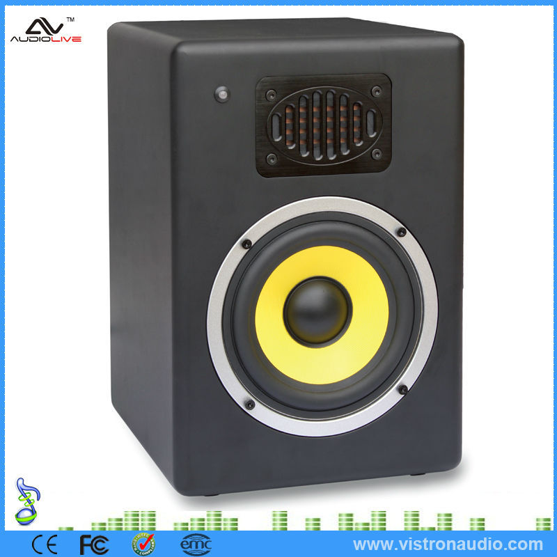 Professional Full Range 2.0 Active Amplified Portable Audio Speaker