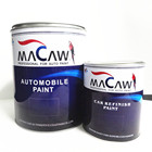 CHINA FACTORY HIGH QUALITY CAR PAINT LIAO MACAW BRAND 1K ACRYLIC MEDIUM COARSE ALUMINUM SILVER METALLIC REFINISH CAR PAINT
