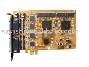 18016E 16CH H.264 Real Time PCI Express DVR Card 16 Line SDK Video Capture Card