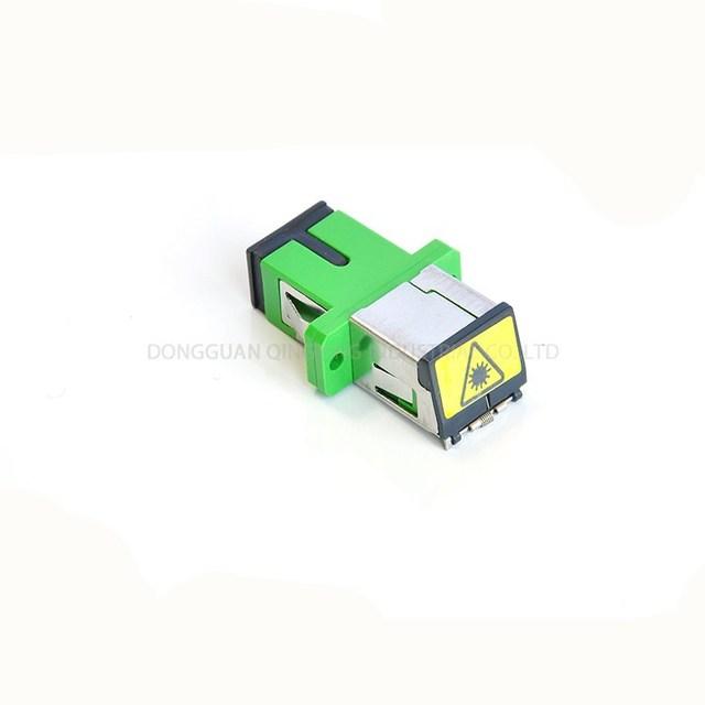 Single Mode Multimode Green Adapter Sc Upc Apc Shutter Adaptor With Laser  Marking Flange Coupler Fiber Optical Adapters - Buy Single Mode Multimode