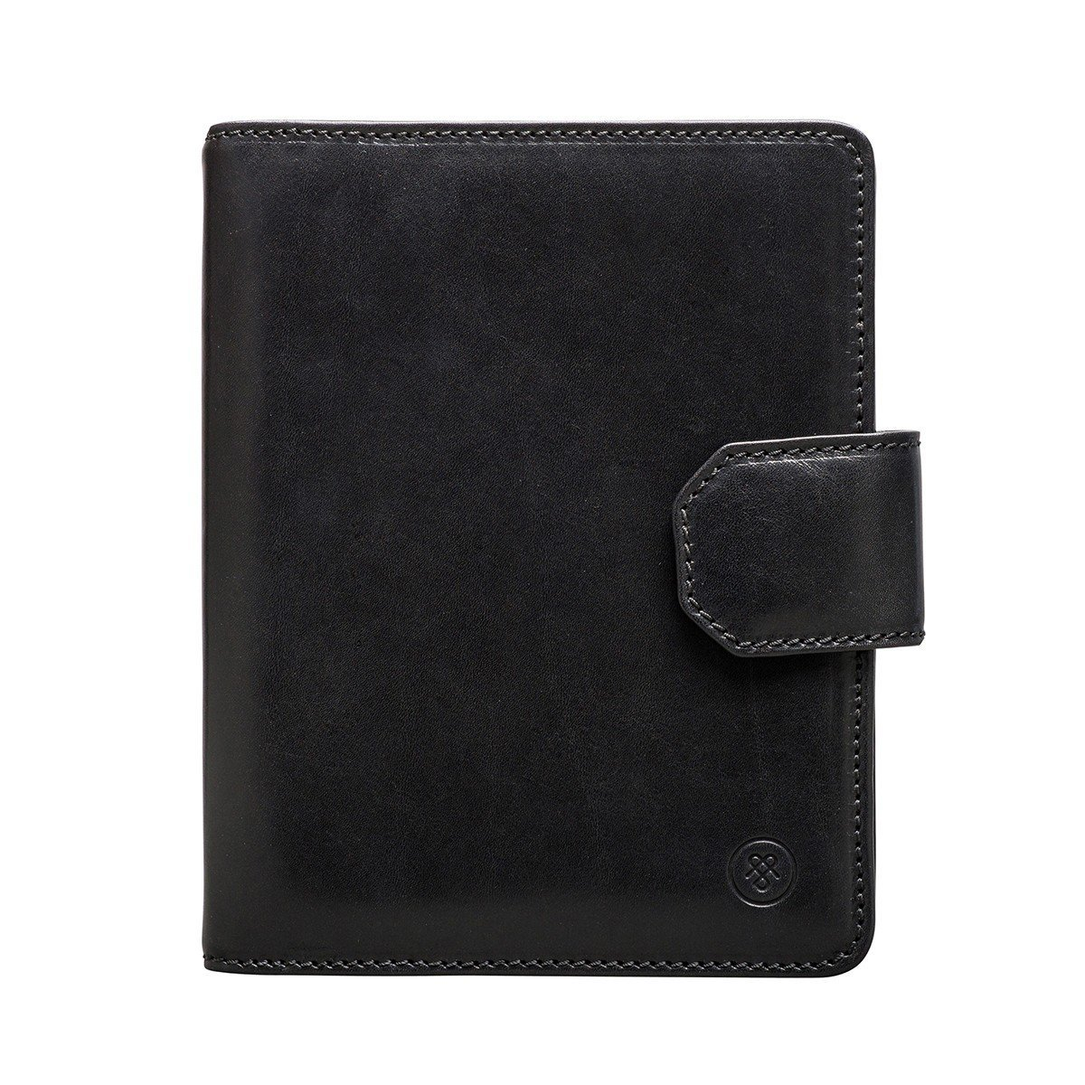 bf952472e79f Get Quotations · Maxwell Scott® Personalised A5 Black Leather Notebook  (Mozzano)