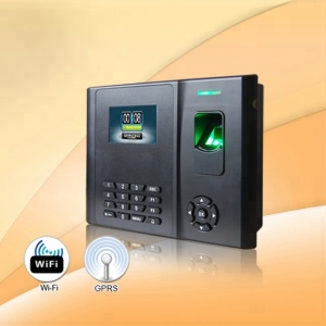 GT200 biometric attendance machine with Li battery, TCP/IP