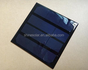3W output power PET micro solar cell/mini small solar panel