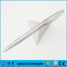 silver triangle floating magnetic levitating pen