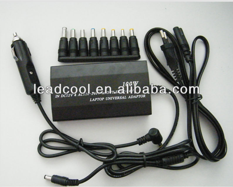 Universal AC/DC 100W Power <strong>Adapter</strong>